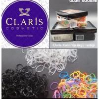 Claris Örgü Lastiği Büyük Kalın Beyaz